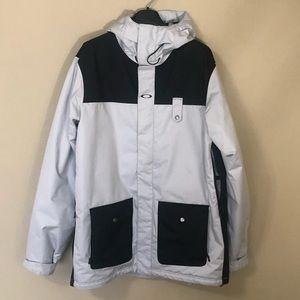 Oakley Andrak Fit off-white & black Ski Jacket